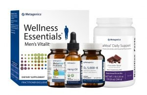 Metagenics supplements are pictured